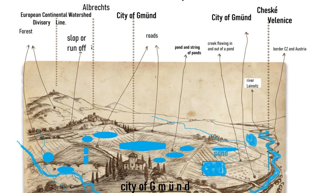 """Gmünd, Lower Austria selected by ITKI as the """"Austrian City of Ponds"""""""